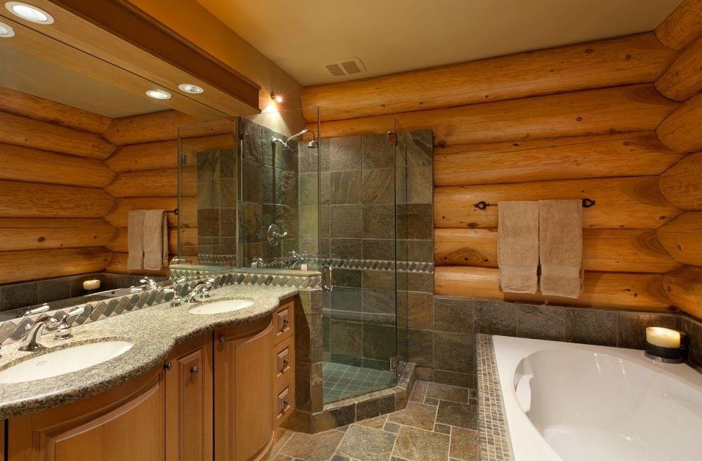 Как сделать пол ванную комнату в частном доме